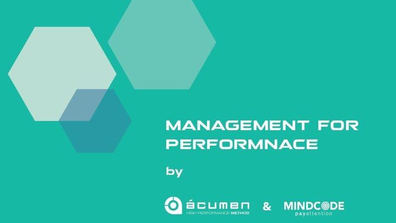 Acumen și Mindcode lansează serviciile corporate de dezvoltare a performanței