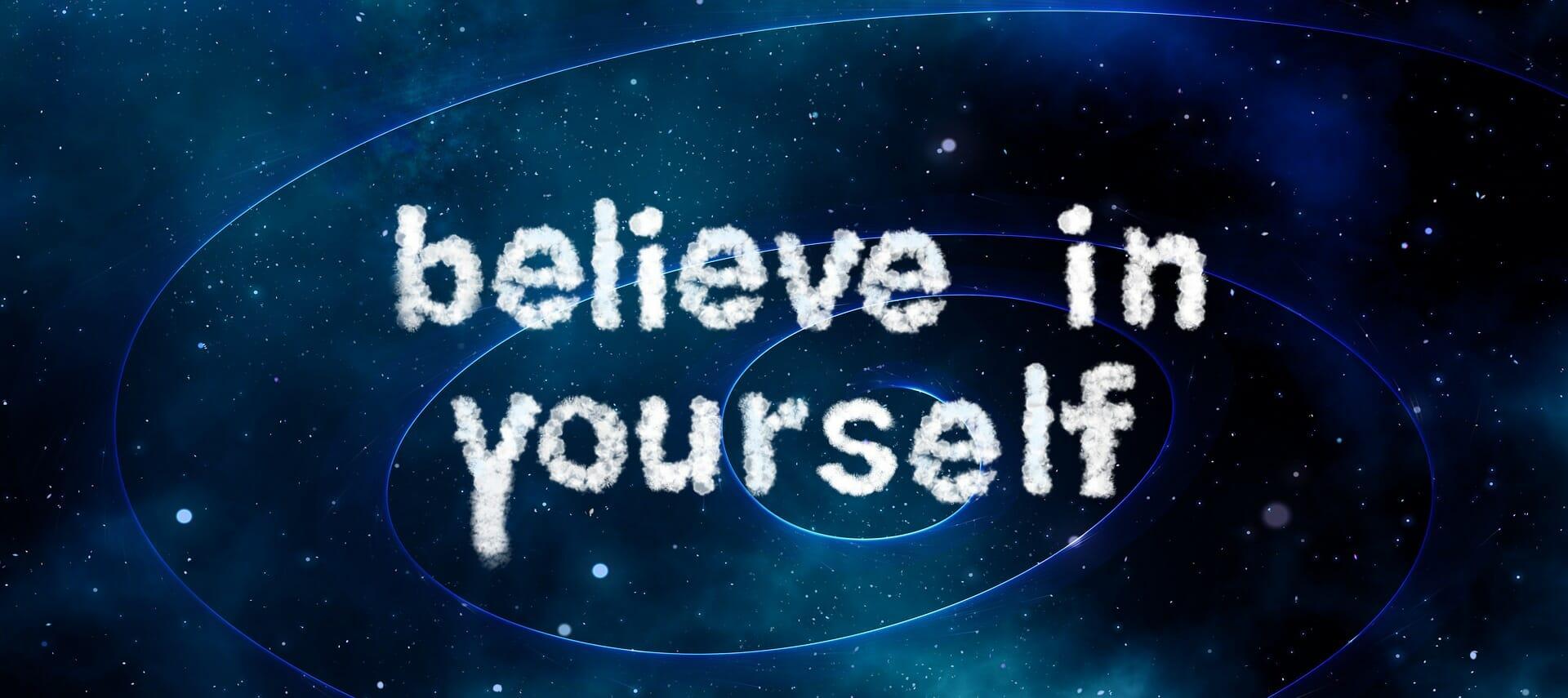 Încrederea în sine este ceva ce înveți să construiești!